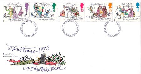 1993 Commemortaive First Day Cover from Collect GB Stamps