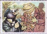 Greetings - Giving 1st Stamp (1993) Mole and Toad (The Wind in the Willows)