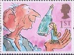 Greetings - Giving 1st Stamp (1993) The Big Friendly Giant and Sophie (The BFG)