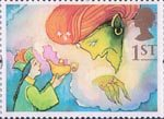 Greetings - Giving 1st Stamp (1993) Aladdin and the Genie