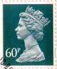 Definitive 60p Stamp (1994) Dull Blue Grey