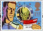 Greetings Stamps - Messages 1st Stamp (1994) Dan Dare and the Mekon