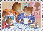 Greetings Stamps - Messages 1st Stamp (1994) The Three Bears