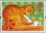 Greetings Stamps - Messages 1st Stamp (1994) Orlando the Marmalade Cat