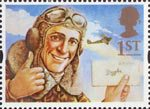 Greetings Stamps - Messages 1st Stamp (1994) Biggles