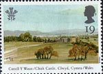 25th Anniversary of Investiture of the Prince of Wales 19p Stamp (1994) Castell y Waun (Chirck Castle), Clwyd, Wales