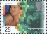 Europa. Medical Discoveries 25p Stamp (1994) Ultrasonic Imaging