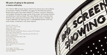 100 Years of going to the pictures - A Cinema Celebration (1996)