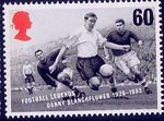 Football Legends 60p Stamp (1996) Danny Blanchflower