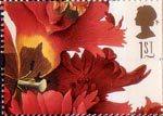 Greetings - Flowers 1st Stamp (1997) Tulipa gesneriana (Ehret)