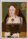 The Great Tudor 26p Stamp (1997) Catherine of Aragon