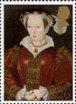 The Great Tudor 26p Stamp (1997) Catherine Parr