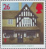 Post Offices 26p Stamp (1997) Painswick, Gloucestershire