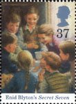 Enid Blyton 37p Stamp (1997) Secret Seven