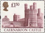 High Value Definitives £1.50 Stamp (1997) Caernarfon Castle