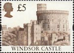 High Value Definitives £5 Stamp (1997) Windsor Castle