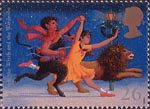 Magical Worlds 26p Stamp (1998) The Lion, The Witch and the Wardrobe (C.S. Lewis)