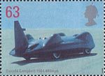 Speed 63p Stamp (1998) Donald Campbell's Bluebird CN7, 1964