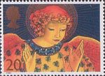Christmas 1998 20p Stamp (1998) Angel with Hands raised in Blessing