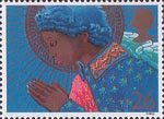 Christmas 1998 26p Stamp (1998) Angel Praying