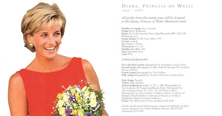 Diana, Princess of Wales Commemoration (1998)