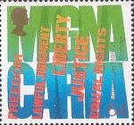 Millennium Series. The Citizens' Tale 64p Stamp (1999) 'MAGNA CARTA' (Human Rights)