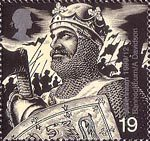 Millennium Series. The Soldiers' Tale 19p Stamp (1999) Robert the Bruce (Battle of Bannockburn, 1314)