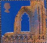 Christians' Tale 44p Stamp (1999) St Andrews Cathedral, Fife ('Pilgramage')
