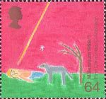 Christians' Tale 64p Stamp (1999) Nativity ('First Christmas')