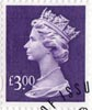 High Value Definitive £3 Stamp (1999) Dull Violet