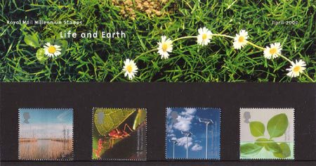 Millennium Projects (4th Series). 'Life and Earth' (2000)