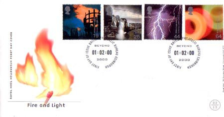 2000 Commemortaive First Day Cover from Collect GB Stamps