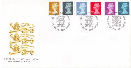 2000 Definitive First Day Cover from Collect GB Stamps
