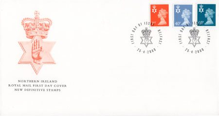 2000 Regional First Day Cover from Collect GB Stamps