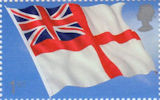 Flags and Ensigns 1st Stamp (2001) White Ensign