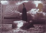 Centenary of Royal Navy Submarine Service 2nd Stamp (2001) Vanguard Class Submarine, 1992