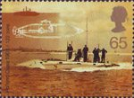 Centenary of Royal Navy Submarine Service 65p Stamp (2001) Holland Type Submarine, 1901