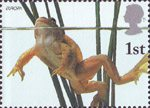 Europa. Pond Life 1st Stamp (2001) Common Frog