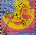 The Weather 27p Stamp (2001) Fair
