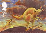 Rudyard Kiplings Just So Stories 1st Stamp (2002) The Sing-Song of Old Mans Kangaroo
