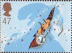 Peter Pan 47p Stamp (2002) Captain Hook