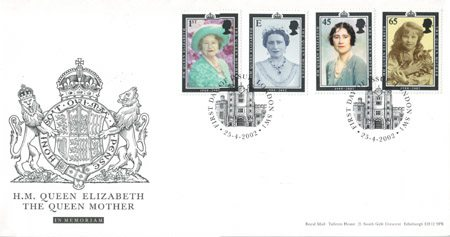 2002 Commemortaive First Day Cover from Collect GB Stamps