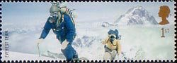 Extreme Endeavours (British Explorers) 1st Stamp (2003) Members of 1953 Everest Team
