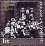 50th Anniversary of Coronation 1st Stamp (2003) Children in Fancy Dress