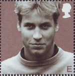 21st Birthday of Prince William of Wales E Stamp (2003) Prince William in September 2000 (Tim Graham)