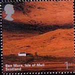 A British Journey : Scotland 1st Stamp (2003) Ben More, Isle of Mull