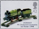 Classic Transport Toys 42p Stamp (2003) Hornby M1 Clockwork Locomotive and Tender, c. 1948