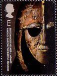 250th Anniversary of the British Museum E Stamp (2003) Sutton Hoo Helmet, Anglo-Saxon, c. AD600