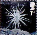 Christmas 1st Stamp (2003) Icicle Star