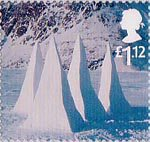 Christmas £1.12 Stamp (2003) Snow Pyramids